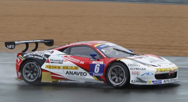GT-TOUR-2015-LE-MANS-Samedi-2-avril-FERRARI-Team-SPORT-GARAGE-de-SANTAMATO-LEMERET-et-Eric-CAYROLLE-Photo-Thierry-COULIBALY