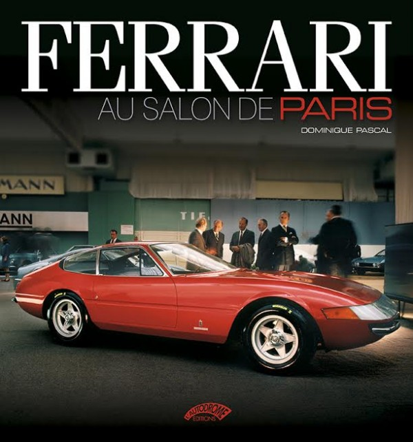 LIVRE FERRARI AU SALON DE PARIS