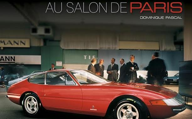 LIVRE FERRARI AU SALON DE PARIS