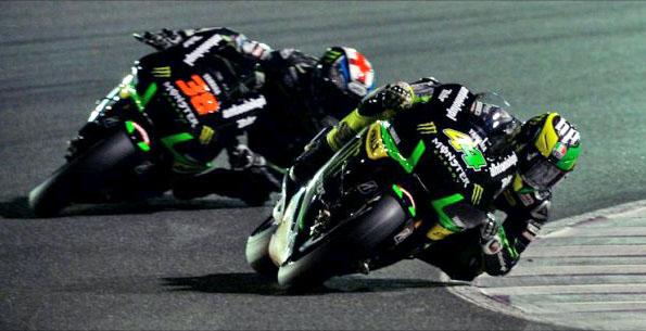 MOTO-GP-QATAR-2015-SMITH-ESPARGARO-Les-pilotes-du-Team-TECH3 YAMAHA