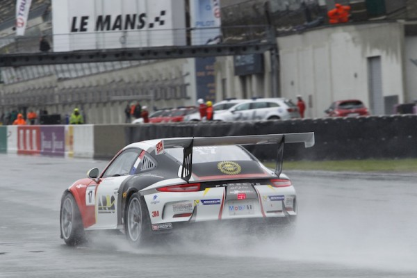 PORSCHE CARRERA CUP 2015 LE MANS - Maxime JOUSSE TeamSLR - Photo Thierry COULIBALY.