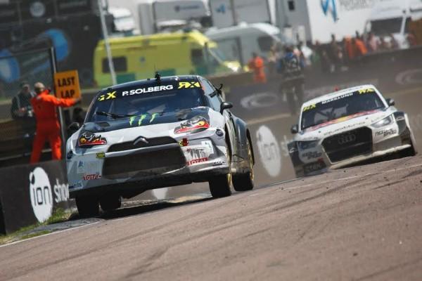 RALLYCROSS 2015 BEGGIN HILL Le tenant du titre Petter Solberg domine le championnat du Monde