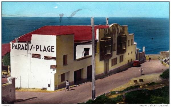 RALLYE-DU-MAROC-HISTORIQUE-2015-PARADIS-PLAGE-autrefois-dans-les-années-60.