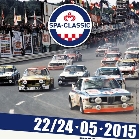 SPA CLASSIC 2015 Affiche -