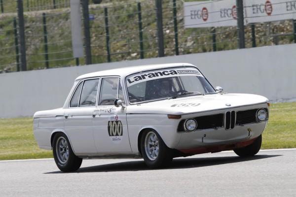 SPA CLASSIC 2015 - Jackie Oliver en action sur sa BMW 1800 TISA-© Manfred GIET