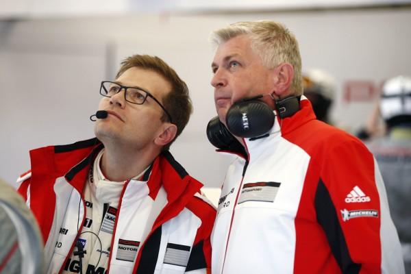WEC-2015-SPA-Andreas-SEIDL-Team-Principal-Porsche-Team-et-Wolfgang-HATZ-Membre-du-Board-Research-et-Development-Porsche-AG