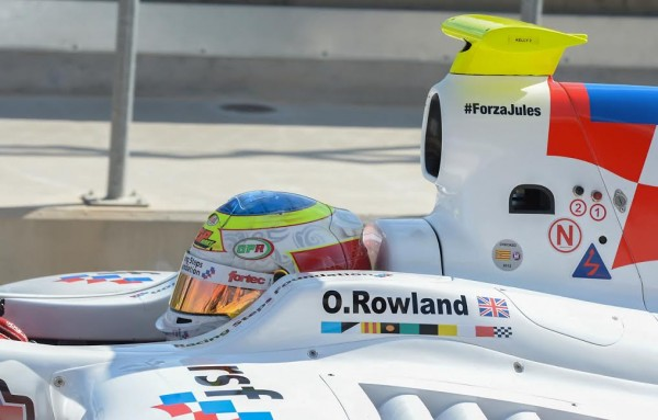 WORLD SERIES by RENAULT 2015  -Formule 3.5-OLIVER ROWLAND -Team FORTEC - Photo-Antoine CAMBLOR