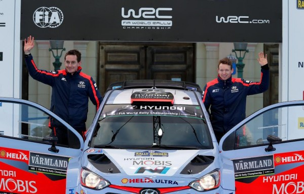 WRC 2015 - KEVIN ABRING disputera quatre autres rallyes en 2015 avec HYUNDAI
