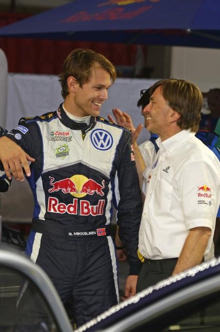 WRC 2015 PORTUGAL Andreas MIKKELSEN et Jost CAPITO.