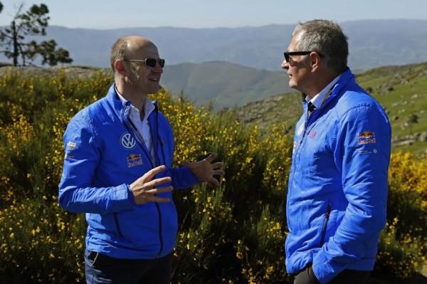 WRC 2015 PORTUGAL - Dr Arno Antlitz et Dr Heinz-Jakob Neusser.