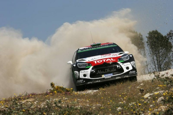 WRC 2015 PORTUGAL La DS3 de MEEKE NAGLE