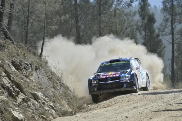 WRC 2015 PORTUGAL La POLO VW WRC de LATVALA ANTTILA
