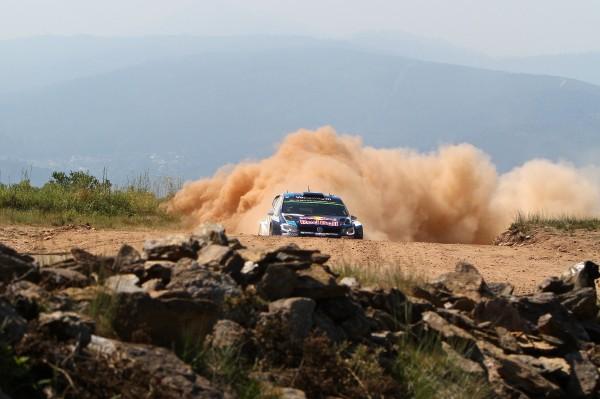 WRC 2015 PORTUGAL La POLO VW WRC de OGIER et INGRASSIA