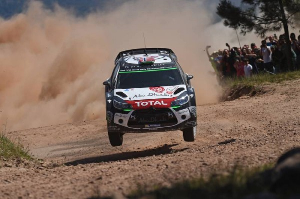 WRC 2015 PORTUGAL MADS OSTBERG DS3