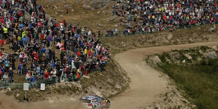 WRC 2015 PORTUGAL VW Polo de LATVALA et ANTTILA.
