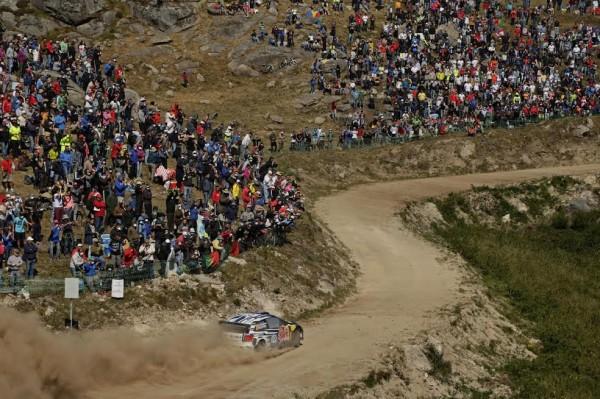 WRC 2015 PORTUGAL VW Polo de LATVALA et ANTTILA