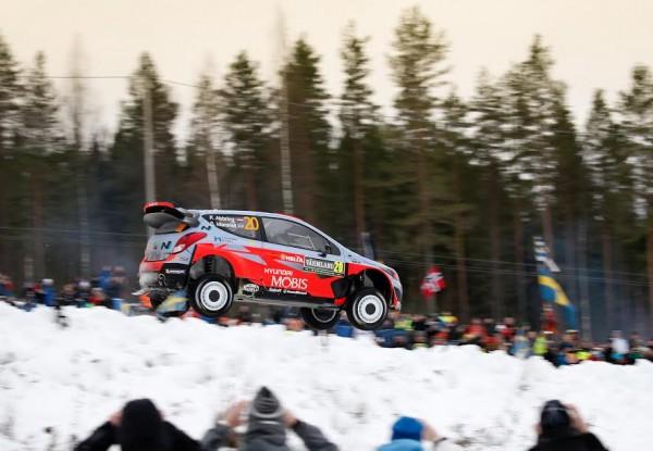 WRC 2015 SUEDE HYUNDAI I20WRC Kevin ABBRING