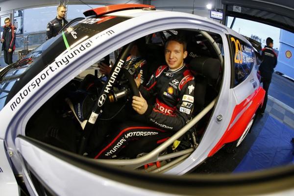 WRC 2015 SUEDE- HYUNDAI i20 WRC - Kevin ABBRING