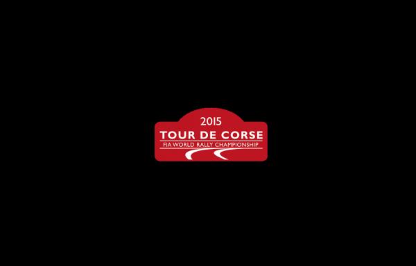 WRC 2015 TOUR DE CORSE PLAQUE rallye