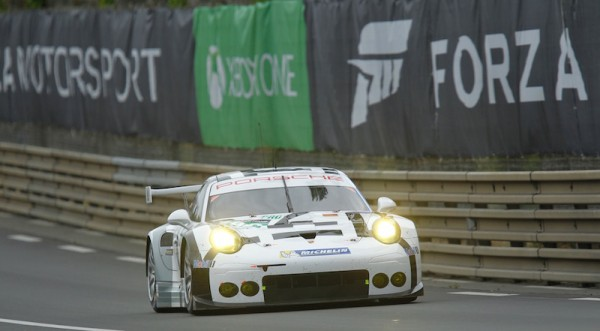 24 HEURES DU MANS 2015  PORSCHE 911 RSR Team MANTHEY PORSCHE AG  Photo Thierry COULIBALY