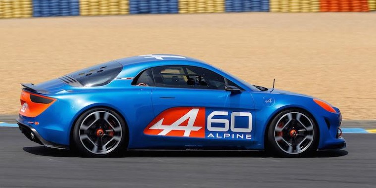 24 HEURES DU MANS 2015 ALPINE AS1SHOWCAZR - CELEBRATION Samedi 13 Juin Photo Thierry COULIBALY
