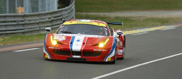 24-HEURES-DU-MANS-2015-TEST-FERRARI-N°83-Scideria-AF-CORSE-Thierry-COULIBALY