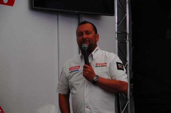 24 Heures du Mans 2015 - Nissan, Darren Cox soutient la démarche d'innovation - Photo Patrick Martinoli