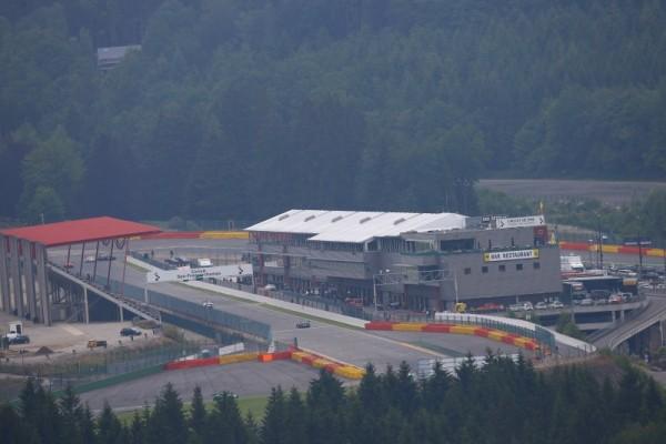 BLANCPAIN-2015-Test-24-Heures-de-SPA-le-Mercredi-25-juin-Vue-génerale-du-circuit-de-Francorchamps