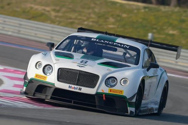 Blancpain-2015 Cricuit Paul Ricard-Bentley -Maximilian Buhk-Andy Soucek-Photo -Antoine Camblor