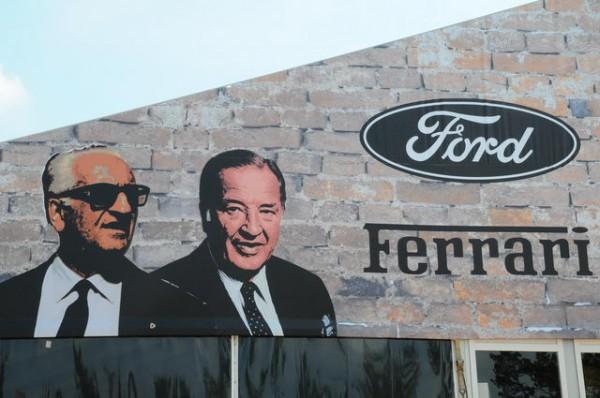 24 HEURES DU MANS 2015   Expositionb DUEL FORD FERRARI des années 60 - Photo Patrick MARTINOLI
