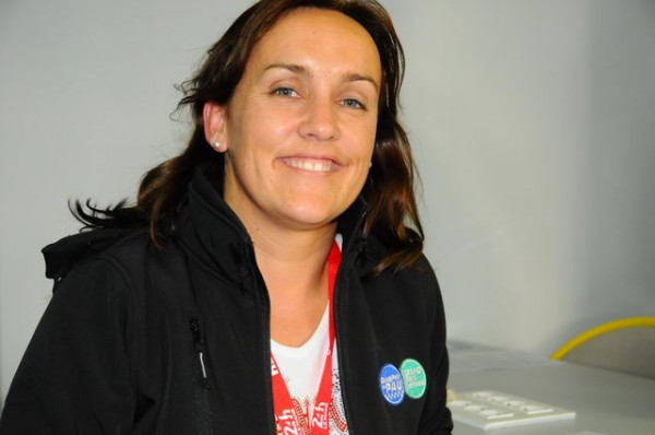Commissaire de Piste TIFFANY OLLO Photo Patrick MARTNOLI
