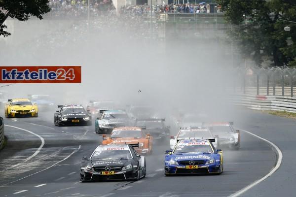 DTM 2015 NUREMBERG le depart de la 1ére course samedi 27 juin