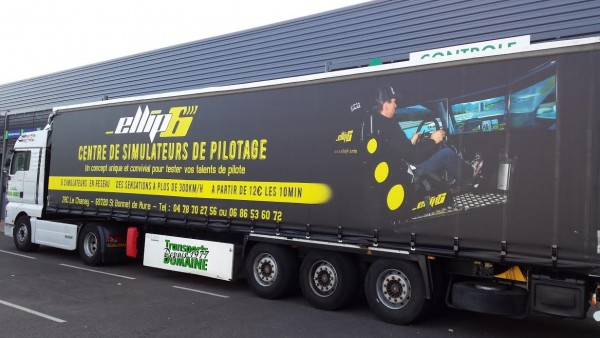 ELLIP 6 ST BONNET DE MURE Le camion ellip 6