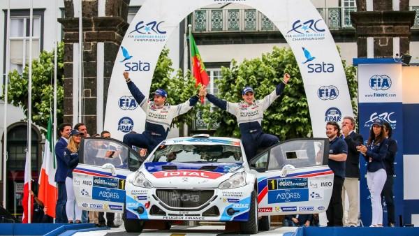 ERC 2015 ACORES VICTOIRE DE BREEN SCOTT AUX ACORES