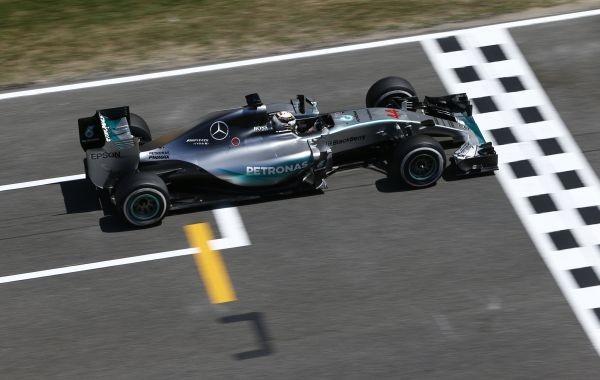 F1 2015 BARCELONE 9 Mai LEWIS HAMILTON