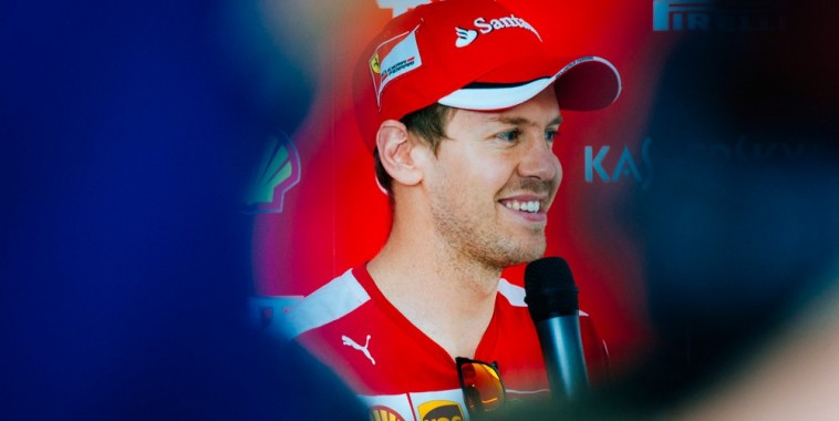 F1 2015 BARCELONE SEB VETTEL INTERVIEW