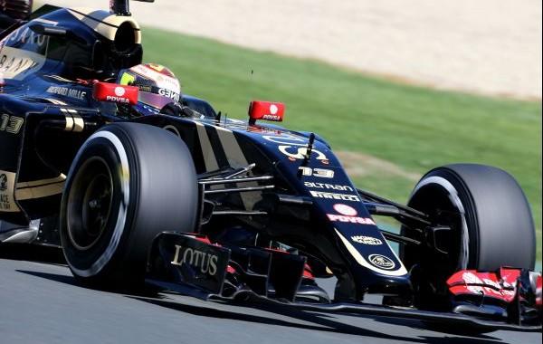 Pastor Maldonado (VEN) Lotus F1 E23. Australian Grand Prix, Friday 13th March 2015. Albert Park, Melbourne, Australia.
