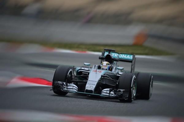 F1 2015- MONTMELO Test 26 fevrier- Lewis HAMILTON- Photo Max MALKA