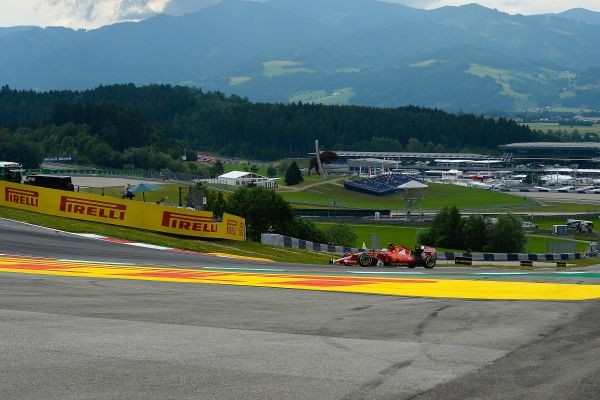 F1 2015 RED BULL RING FERRARI -SEB VETTEL