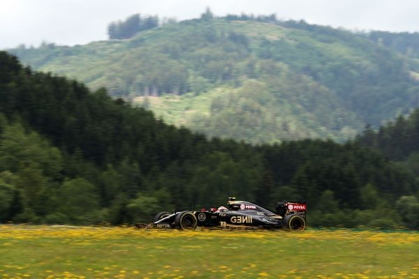 F1-2015-RED-BULL-RING-LOTUS-MERCEDES de Pastor MALDONADO