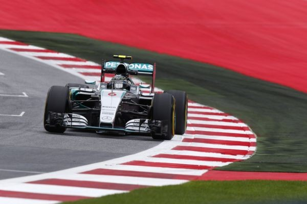 F1 2015 RED BULL RING MERCEDES de NICO ROSBERG