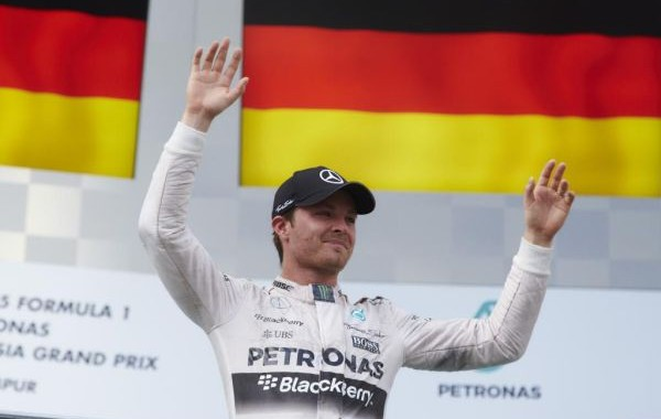 F1 2015 SEPANG NICO ROSBERG