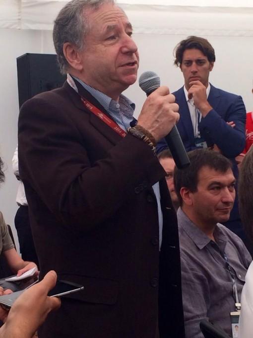 FORMULE E 2015  LONDRES - Jean TODT Président de la FIA lors de la Conférence DS le samedi 27 juin