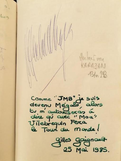 FRED-PRYSQUEL-LIVRE-D-OR-Herbert-VON-KARAJAN-et-Gilles-GAIGNAULT