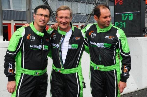 Funcup Val de Vienne 2015 - Didier et Pascal accueillent Tony pour cette course - Photo Daniel Noly.