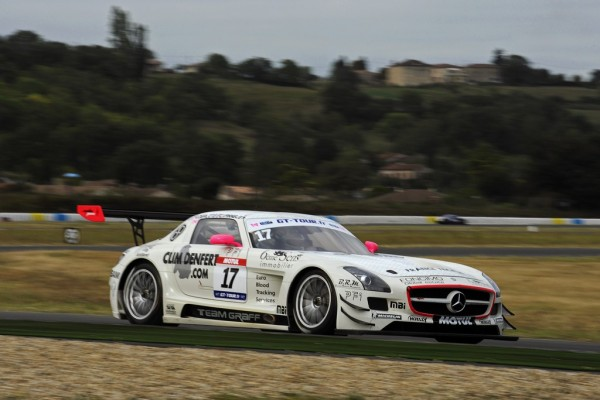 GT-TOUR-ALBI-2011-MERCEDES-DERLOT-VANNELET. Photo Claude MOLINIER