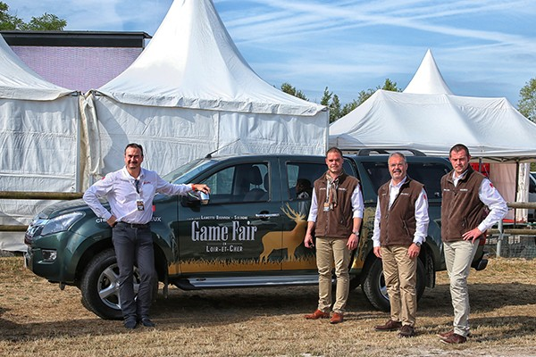 ISUZU-GAME-FAIR-2015. La DREAM Team LUISANT