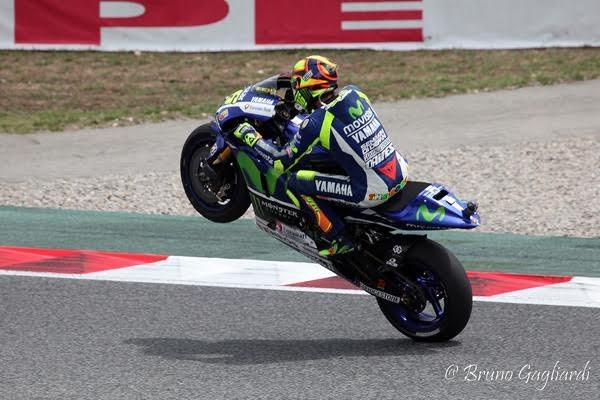 MOTO-GP-2015-BARCELONE-Valentino-ROSSI- Photo Bruno GAGLIARDI