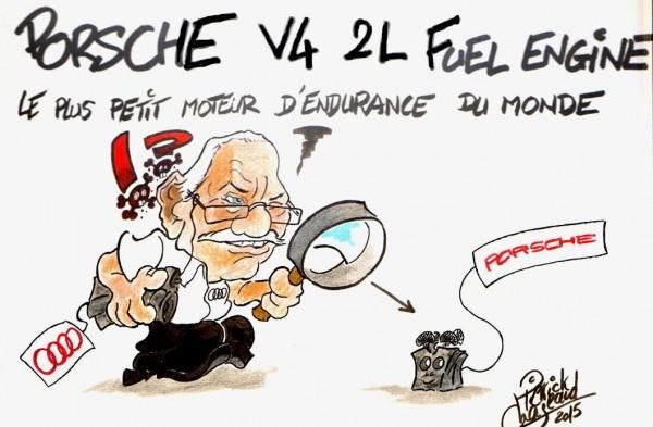 PIERRICK CHAZEAUD 2015 - le moteur PORSCHE