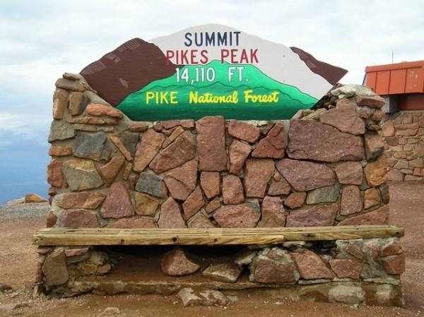 PIKE-PEAK-Sommet ETE 2012